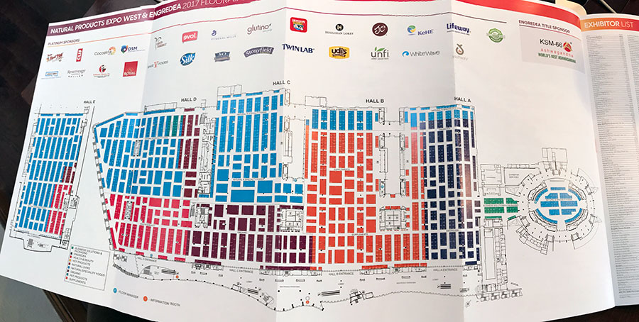 Expo West Map